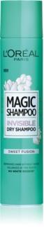 L'Oréal Paris Magic Shampoo Sweet Fusion shampooing sec pour un effet volume sans traces blanches
