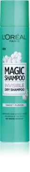 L'Oréal Paris Magic Shampoo Sweet Fusion suhi šampon za volumen las, ki ne pušča belih sledi