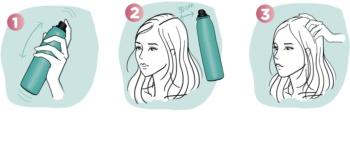 L'Oréal Paris Magic Shampoo Vegetal Boost Trockenshampoo für mehr Haarvolumen, hinterlässt keine weißen Stellen