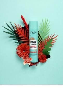 L'Oréal Paris Magic Shampoo Tropical Splash suhi šampon za volumen las, ki ne pušča belih sledi