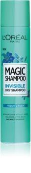 L'Oréal Paris Magic Shampoo Fresh Crush shampooing sec pour un effet volume sans traces blanches