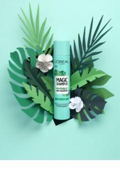 L'Oréal Paris Magic Shampoo Vegetal Boost shampooing sec pour un effet volume sans traces blanches