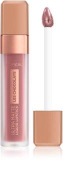 L'Oréal Paris Infaillible Les Chocolats labial líquido ultra mate