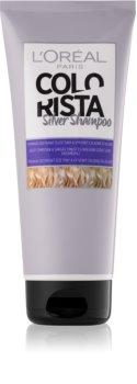 L'Oréal Paris Colorista Silver šampon za nevtralizacijo rumenih tonov