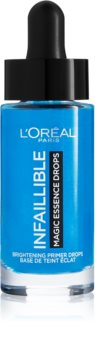 L'Oréal Paris Infaillible Magic Essence Drops rozjasňující podkladová báze