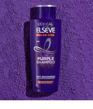 L'Oréal Paris Elseve Color-Vive Purple šampon za nevtralizacijo rumenih tonov