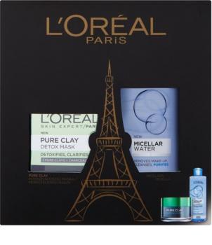 L'Oréal Paris Pure Clay lote cosmético I.