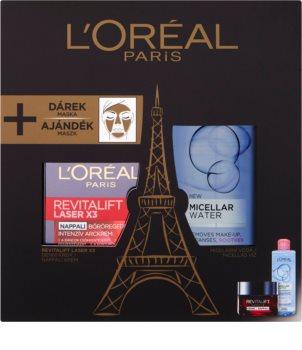 L'Oréal Paris Revitalift Laser X3 coffret cosmétique IV.