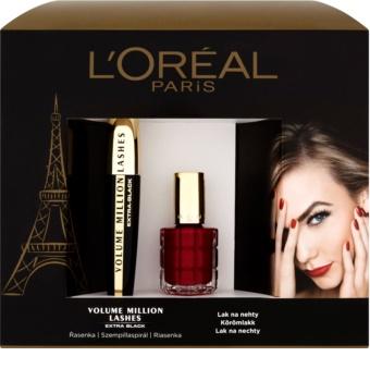 L'Oréal Paris Volume Million Lashes Extra Black kozmetični set II.