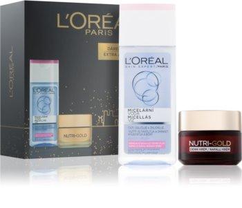 L'Oréal Paris Nutri-Gold kosmetická sada I.