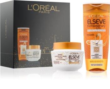 L'Oréal Paris Elseve Extraordinary Oil Coconut kozmetická sada I.
