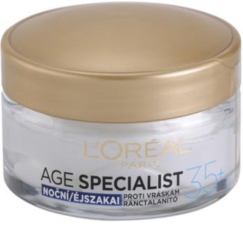 L'Oréal Paris Age Specialist 35+ Moisturizer Care Night Cream Anti Wrinkle