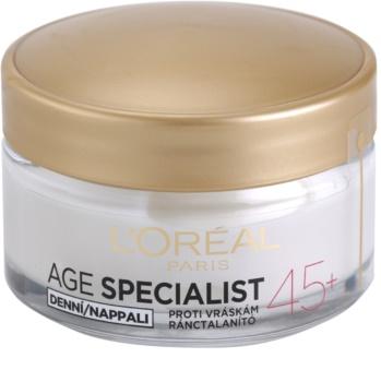 L'Oréal Paris Age Specialist 45+ creme de dia antirrugas