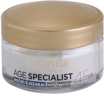 L'Oréal Paris Age Specialist 45+ Nachtcrème  tegen Rimpels