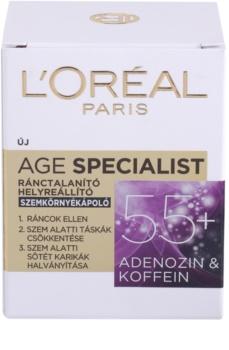 L'Oréal Paris Age Specialist 55+ očný krém proti vráskam