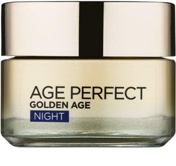 L'Oréal Paris Age Perfect Golden Age nočna krema proti gubam za zrelo kožo