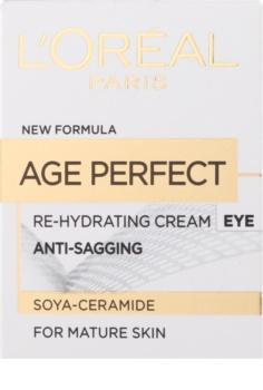 L'Oréal Paris Age Perfect nawilżająco - odżywczy krem pod oczy do skóry dojrzałej