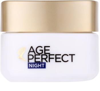 L'Oréal Paris Age Perfect nočna pomlajevalna krema