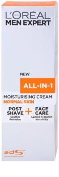 L'Oréal Paris Men Expert All-in-1 зволожуючий крем для нормальної шкіри