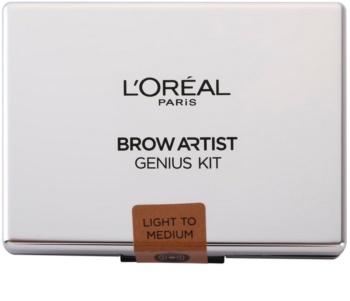 L'Oréal Paris Brow Artist Genius Kit sada pro dokonalé obočí