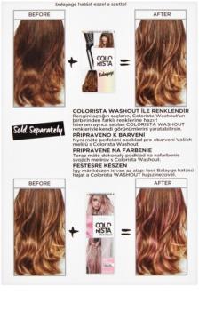 L'Oréal Paris Colorista Balayage odstranjevalec barve za lase