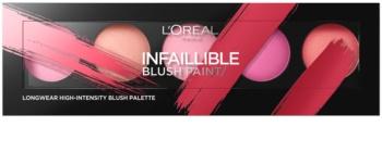 L'Oréal Paris Infaillible Blush Paint paleta rdečil