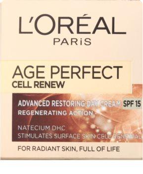 L'Oréal Paris Age Perfect Cell Renew denní krém pro obnovu pleťových buněk