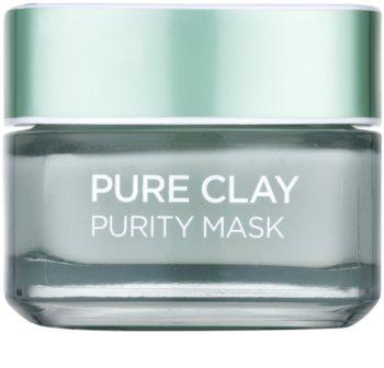 L'Oréal Paris Pure Clay masque purifiant et matifiant