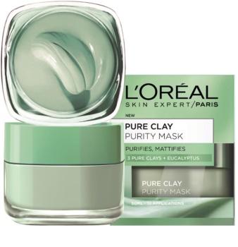 L'Oréal Paris Pure Clay mattierende Reinigungsmaske