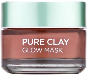 L'Oréal Paris Pure Clay eksfoliacijska maska