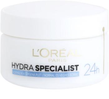 L'Oréal Paris Hydra Specialist dnevna vlažilna krema za normalno do mešano kožo