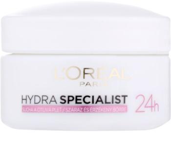 L'Oréal Paris Hydra Specialist nawilżający krem na dzień do cery wrażliwej i suchej