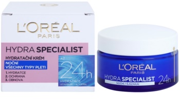 L'Oréal Paris Hydra Specialist nawilżający krem na noc