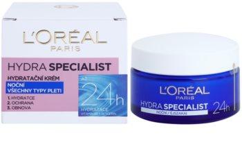 L'Oréal Paris Hydra Specialist nočna vlažilna krema