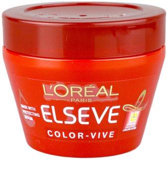 L'Oréal Paris Elseve Color-Vive maseczka  do włosów farbowanych
