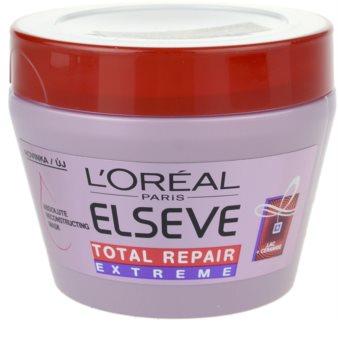 L'Oréal Paris Elseve Total Repair Extreme erneuernde Maske für trockenes und beschädigtes Haar