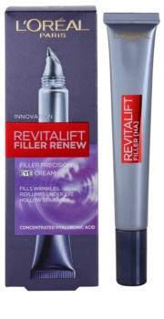 L'Oréal Paris Revitalift Filler Augencreme gegen tiefe Falten