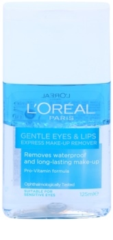 L'Oréal Paris Gentle desmaquilhante de olhos e lábios para pele sensível