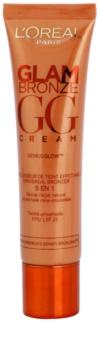 L'Oréal Paris Glam Bronze GG Cream bronzosító krém az arcra 5 in 1