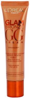 L'Oréal Paris Glam Bronze GG Cream Crema autobronzanta pentru fata 5 in 1