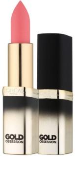 L'Oréal Paris Color Riche Gold Obsession szminka z 24-karatowym złotem