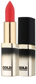 L'Oréal Paris Color Riche Gold Obsession ruj cu aur de 24 de karate