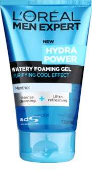 L'Oréal Paris Men Expert Hydra Power čistiaci gél s chladivým účinkom