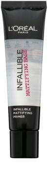 L'Oréal Paris Infallible base matifiante