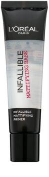 L'Oréal Paris Infallible fond de ten lichid cu efect matifiant