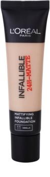 L'Oréal Paris Infallible matující make-up