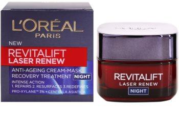 L'Oréal Paris Revitalift Laser Renew krem na noc przeciw starzeniu się skóry