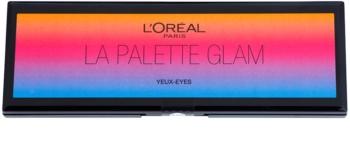L'Oréal Paris Color Riche La Palette Glam палітра тіней з дзеркальцем та аплікатором