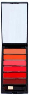 L'Oréal Paris Color Riche La Palette Glam paleta šmink z ogledalom in aplikatorjem