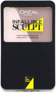 L'Oréal Paris Infallible Sculpt Contouring Palette